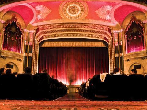 ミルウォーキー映画祭の会場、オリエンタルシアター