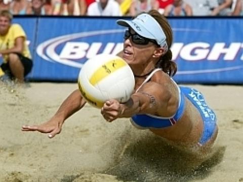 ハンティントンビーチで開催される AVP バレーボール・トーナメント