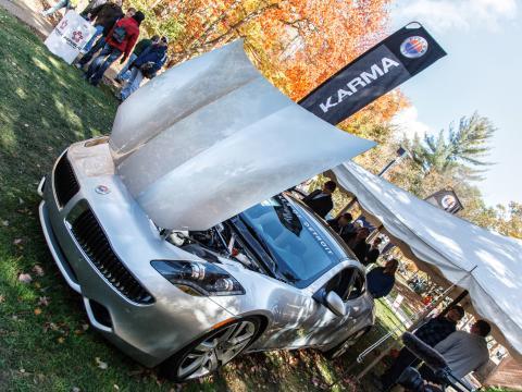 ノースウッド国際オートショーで展示される最新の乗用車やテクノロジー